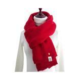 本命年新款围巾秋冬天仿羊绒小菠萝加厚保暖羊绒披肩