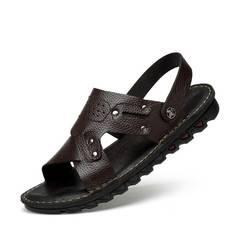小童马凉鞋男鞋2018夏季新款时尚透气防滑轻便开车鞋沙滩鞋拖鞋