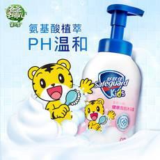 舒肤佳 儿童泡沫沐浴露巧虎柔肤小粉500ml棉花糖沐浴露(富含氨基酸 pH温和 宝宝可用)