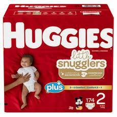 好奇/Huggies Little Snugglers Plus+ 尺寸2