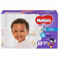 好奇/Huggies Little Movers Plus+ 尺寸6